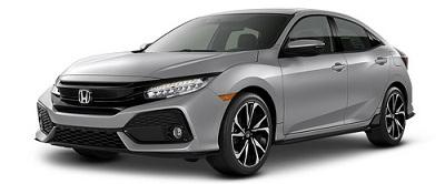 Honda Civic Hatchback Silver