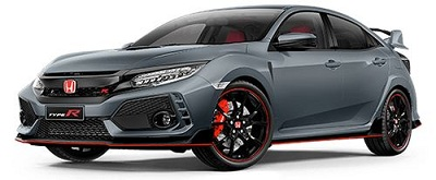 Honda Civic Type R Abu-Abu