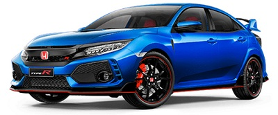 Honda Civic Type R Biru