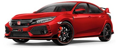 Honda Civic Type R Merah