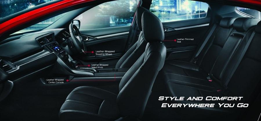 Interior Honda Civic Hatchback 2