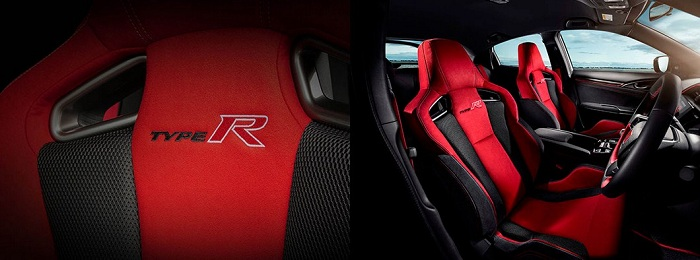Interior Honda Civic Type R 2