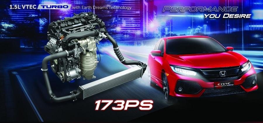 Mesin Honda Civic Hatchback