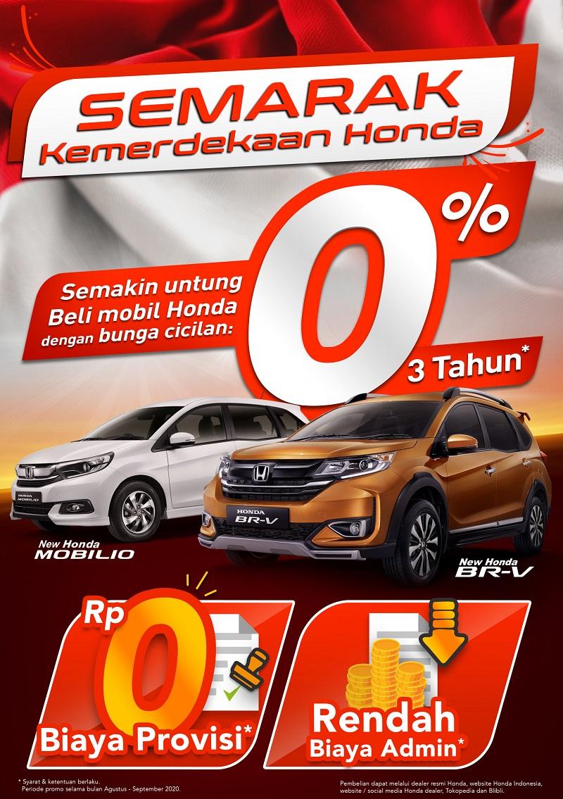 Promo Kemerdekaan Honda