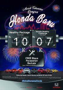 Promo Honda Awal Tahun 2021 Tangerang